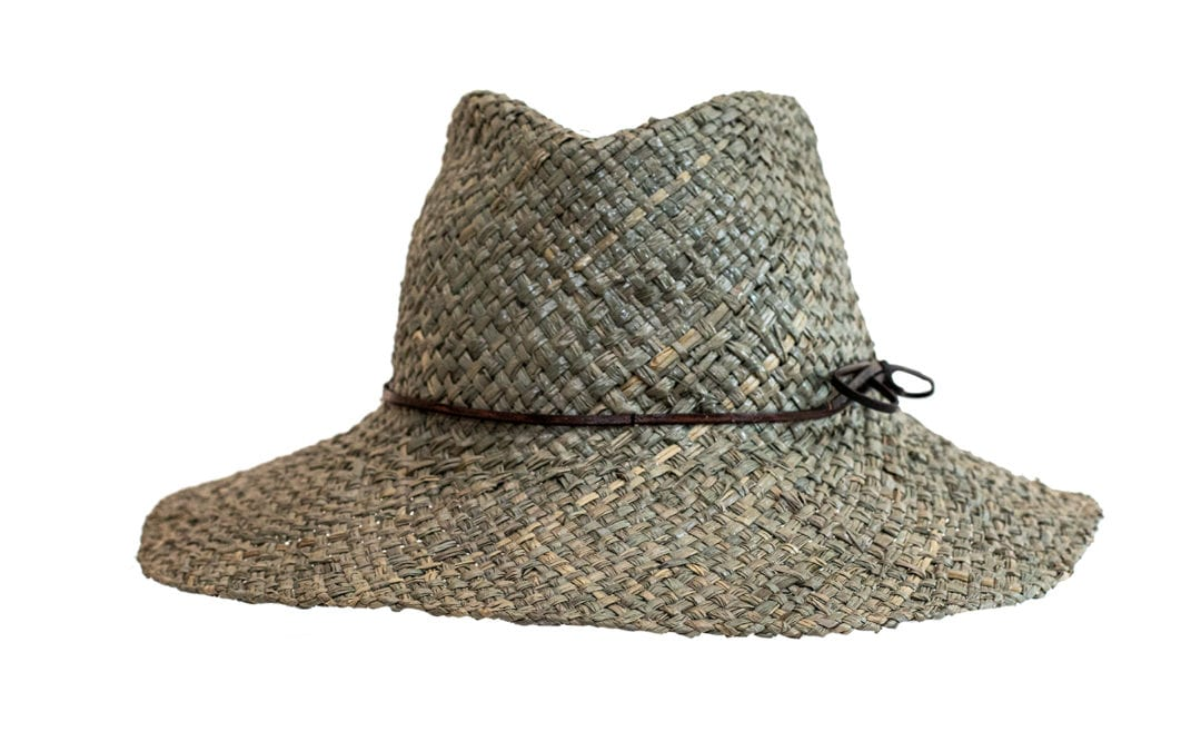 Charlie-  A freeform designed fedora shaped packable hat merging fashion with function